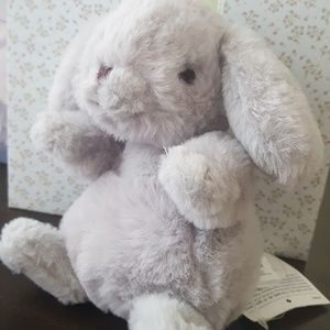 Janie and jack NWT grey easter bunny baby boy gift